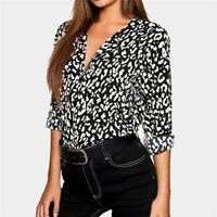 Floral Pullover Casual O Neck Long Sleeve Fashion Top Elegant Solid T-Shirt New