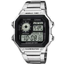 Casio Digital Alarm and Chronograph Watch AE-1200WHD-1AVEF