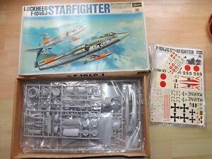 Vintage 1/32 Scale Hasegawa Lockheed Starfighter F-104G/J Kit Sealed In Box