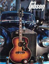 Gibson- 1986, Acoustic Guitar bi-fold flyer