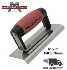"Marshalltown Cement Concrete Edger Trowel 6""x3"" Hand Tools Durasoft Handle M36D"