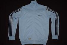 Adidas Entraînement Veste Sport Track Top Jacket Originals Rétro VIP Bleu Casual M