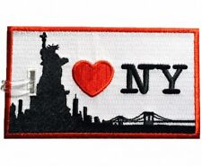 I LOVE NEW-YORK Embroidered Luggage Tag (NEVER BREAKS!)