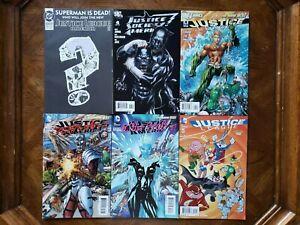 Justice League America #71 #7.1 DeadShot Lenticular #7.2 #46 Looney Tunes Lot