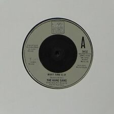 """THE KANE GANG 'WHAT TIME IS IT' UK 7"""" SINGLE #2"""