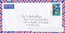BD219) Tonga. OHMS Air mail cover bearing: Birds. Price: $6