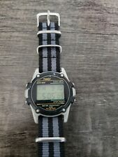 Timex digital watch men: New battery and nato band.