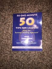 50 One Minute Tips for Leaders - Using the Systems