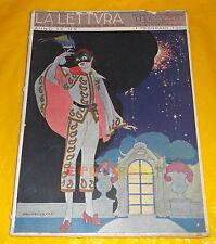 LA LETTURA 1920 n. 2 Raffaele Calzini, Marco Praga, Teresah, Marino Moretti