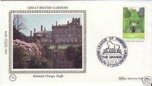 Biddulph Grange Staffs British Garden Benham Silk Cover