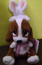 "Cottondale Sad Sam 7"" Basset Hound w/Easter Rabbit Ears Boys 3 yrs+ New 2015"