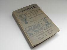 Physique Classes de 5ème , 4ème , 3ème , A.Mame 1941  Livre