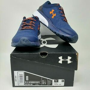 NEW! Under armour Charged Escape 3 Athletic Shoe - Men's Sizes 8-13, Navy