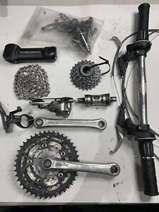 Shimano Deore 3 x 8 Mountain Bike Groupset Triple