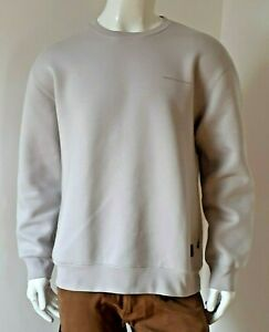 Carhartt WIP - Beta Sweatshirt - Cinder/Reflective (Grau), Größe L