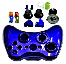 New XBox 360 Gloss Blue Wireless Controller Shell Kit by TGC ®
