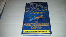 The Mediterranean Caper by Clive Cussler (2013, 40th Anniversary) SIGNED 1st/1st