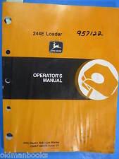 John Deere 244E Loader Operator'S Manual Omat108846 C1