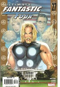 °ULTIMATE FANTASTIC FOUR #27 PRESIDENT THOR 1 von 3° US Marvel 2005 Mark Millar