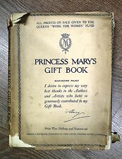 PRINCESS MARY'S GIFT BOOK by BUCKINGHAM PALACE - HODDER & STOUGHTON *D/W H/B*