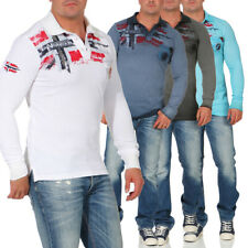 Geographical Norway Homme Polo Maillot Manches Longues Kespote Ls