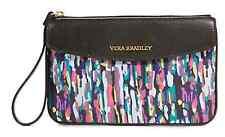 *New* Vera Bradley Envelope Wristlet Watercolor Brushstrokes Leather Trim iPhone