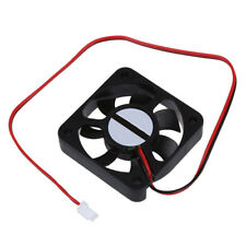 New Plastic DC 12V 2 Pins Connector Brushless Cooling Fan 50mm x 50mm x 10 Y2W3