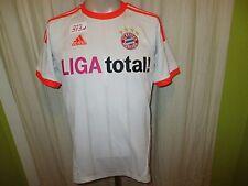 "FC Bayern München Adidas Auswärts Triple Trikot 2012/13 ""LIGA total"" Gr.S- M TOP"