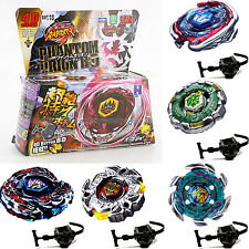 Fusion Top Rapidity Fight Metal Master Beyblade 4D Launcher Grip Set Kids Toys