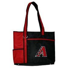 New MLB Carryall Tote Bag Purse Licensed ARIZONA DIAMONDBACKS Embroidered Logo