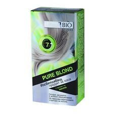 Linea Bio PURE BLOND Lightener Bleaching SHORT HAIR Mint Scent Up To 7 Tones
