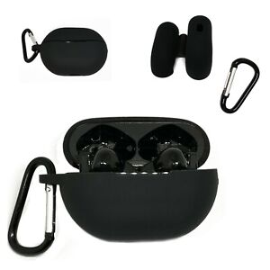 Huawei Freebuds 3 / Pro Silicone Case Black Protection Cover Headphones New