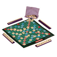 English spelling Kids Children Family Vocabulary Scrabble Learning Board Game