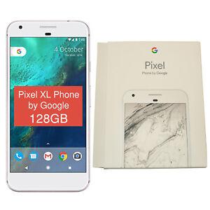 "BNIB 5.5"" Google Pixel XL 2016 G-2PW2200 128GB Silver Factory Unlocked 4G OEM"