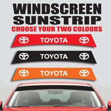 Toyota windscreen sunstrip car graphics prius rav4 yaris decal sticker ss26