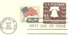 "1968 U.S. ""1 4/10c AUTH. NONPROFIT ORG"" Stationary FDC #U548 & Mint Copy WYSIWYG"