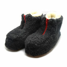 NEW LADIES WOMENS COSY FUR LINED BOOTS WARM SOFT WINTER ANKLE SLIPPERS RZ