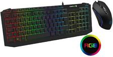 Pulse RGB USB Gaming Keboard & Mouse Deskset - GAMEMAX