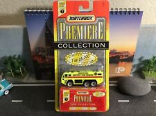Matchbox Premiere Fire Collection Westfield Airport Truck 1:64 Scale