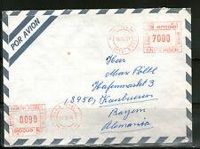 Ungeprüfte Briefmarken aus Süd-& Mittelamerika mit Bedarfsbrief