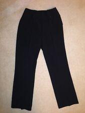 New Kaleidoscope Womens Classic Black Straight Leg Trousers Size: UK12/38 32L