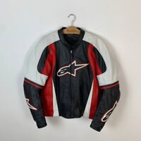 Men's Alpinestars Racing Motorcycle Leather Jacket US 46 / EUR 56