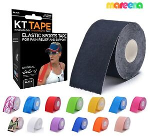 Kinesiology Tape Muscle Bandage 15 Colour Sports Cotton Elastic Adhesive Strain