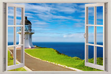 X Large 3D Home Decor Mural Valley Window View Wall Art Stickers Vinyl Decal art