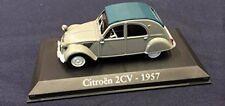Véhicules miniatures jaunes Citroën 1:43