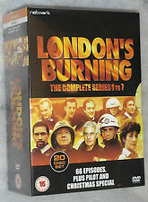 London's Burning Complete Series 1-7 - 20 DVD Box Set - NEW & SEALED