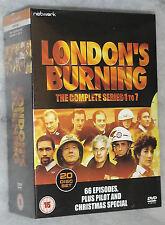 LONDON'S BURNING SERIE COMPLETA 1-7 - 20 DVD COFANETTO - NUOVO E SIGILLATO