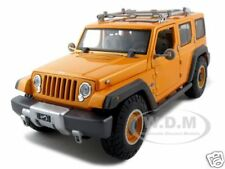 JEEP RESCUE CONCEPT ORANGE 1:18 DIECAST MODEL CAR  BY MAISTO 36699