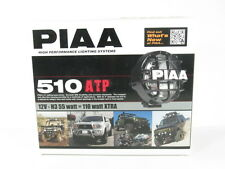 PIAA 510 Series ATP Intense White Halogen Round Driving Lamp Kit Fog Lights 5196