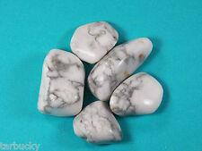 "2 oz HOWLITE  Large 1""+ Bulk Tumbled Stone Metaphysical Healing FS"
